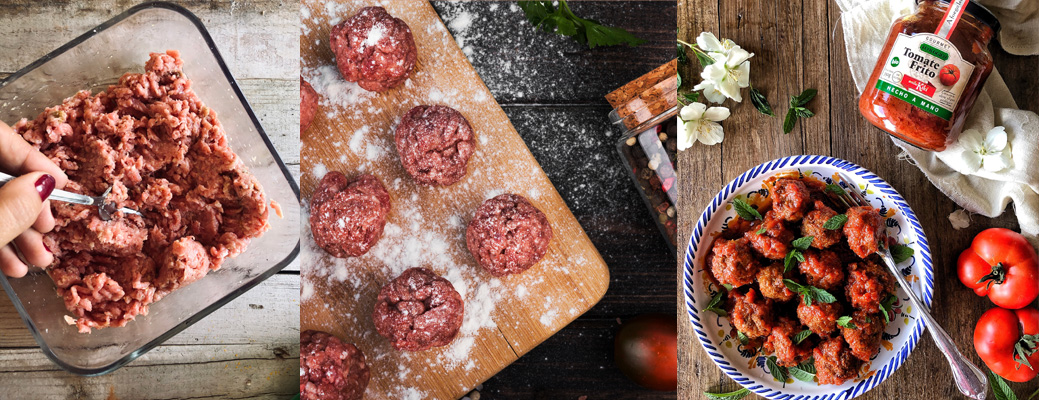receta albondigas al horno tomate artesano ecologico