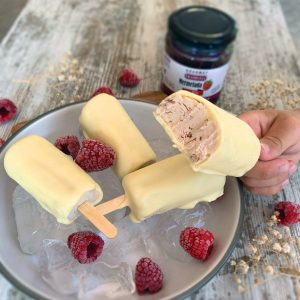 Receta mini magnum saludable 3 ingredientes