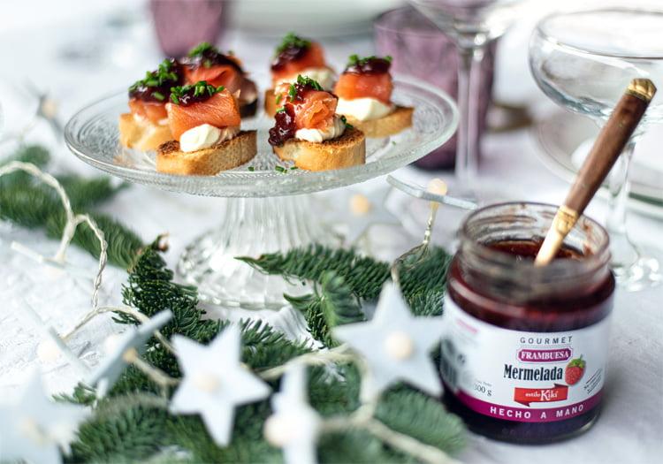 3 recetas faciles canapes navidad
